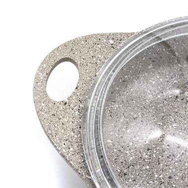 Aryıldız Vesta Sahan Seti Granitium Renkli